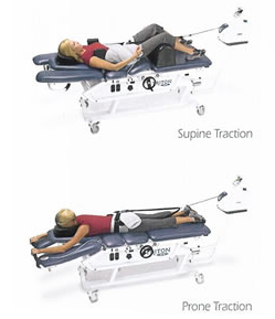 Decompression Table For Non-Surgical Back Treatment From Total Chiro