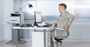 Workstation Ergonomics and Back Pain from Total Chiro
