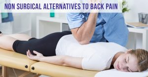 Non Surgical Alternatives to Back Pain with Total Chiro