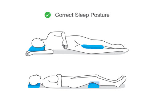 Correct Sleep Posture from Total Chiropractic Care
