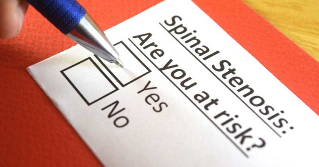 Spinal Stenosis Risks