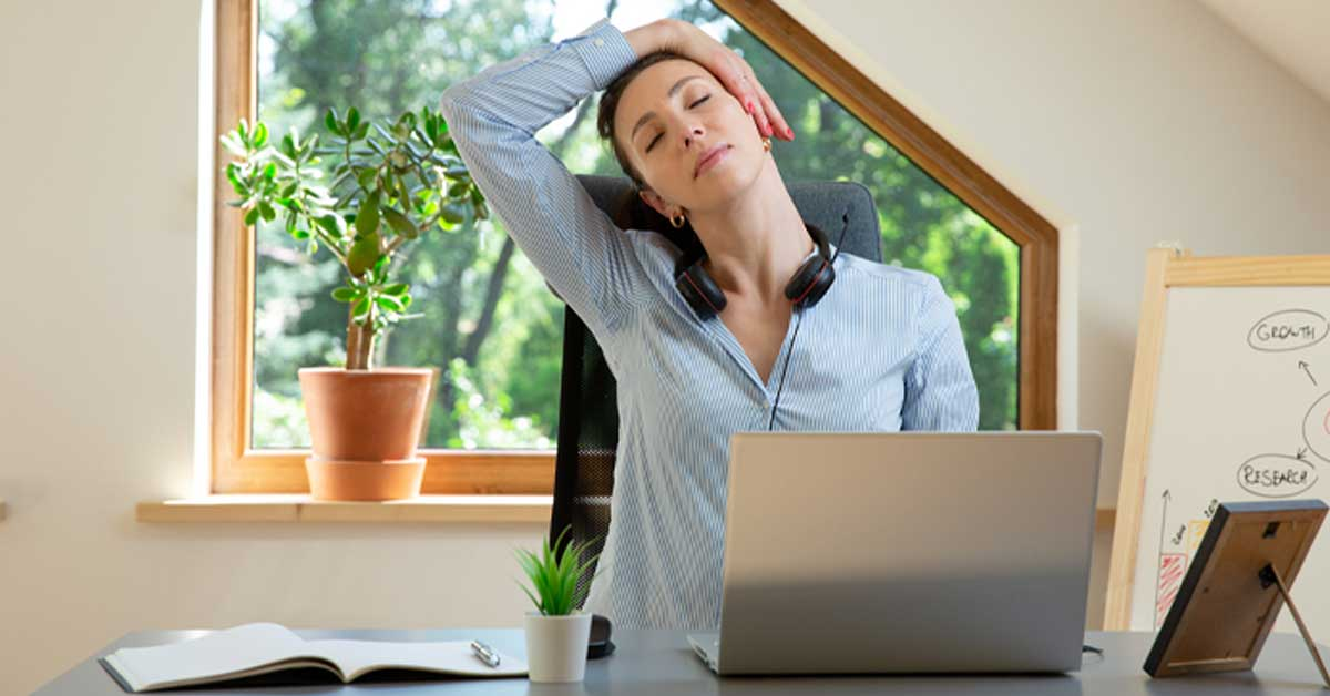 Best Stretches While Working from Home