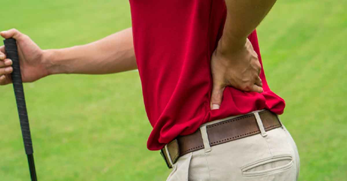 What Are The Most Common Golf Injuries?